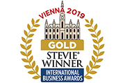 Gold Stevie Award Winner for Small Company of The Year (Health Products and Services)
